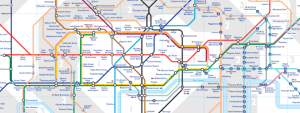 metro londýn