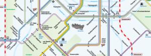 mapa metra amsterdam