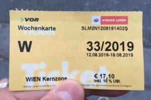 Jízdenka do metra ve Vídni na 7 dní za 17 Euro