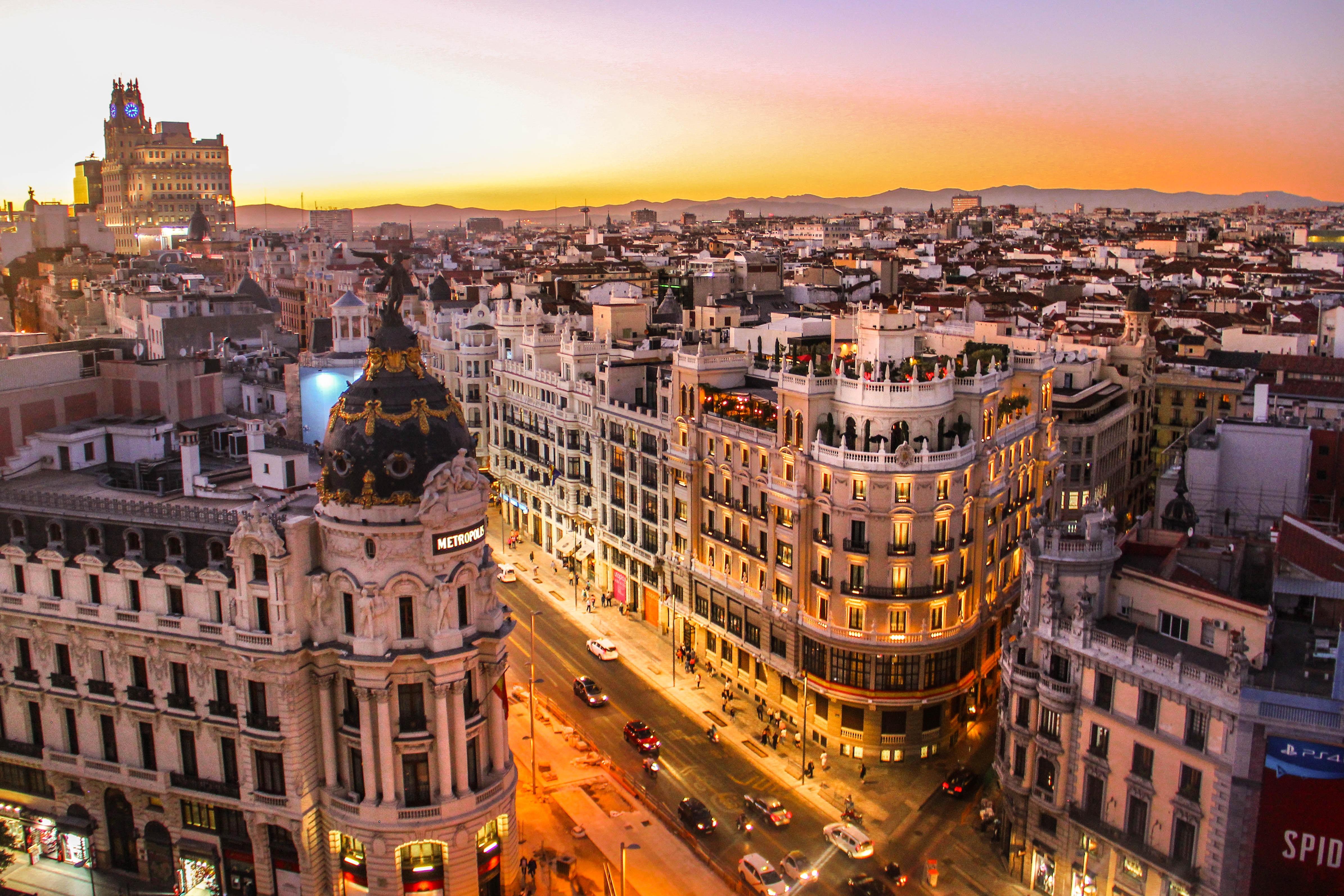 Madrid a metro