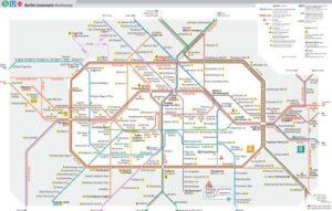 Mapa metra Berlín (pro stažení klikni zde)