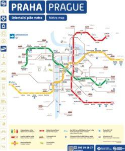 Mapa metra Praha (klikni zde pro zobrazení plného formátu)