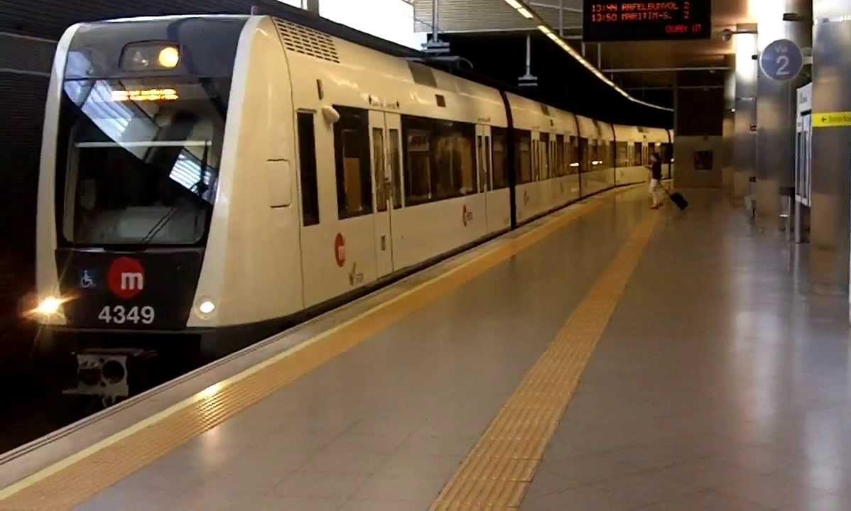 Metro Valencie Španělsko doprava na letiště