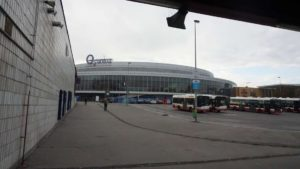 Metro Českomoravska stanice - O2 Arena metra Praha