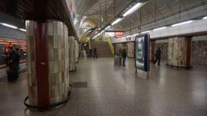 Metro Florenc stanice - přestupní stanice metra Praha